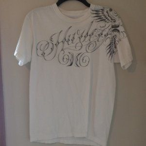 Men's Hurley White T-Shirt Sz. M